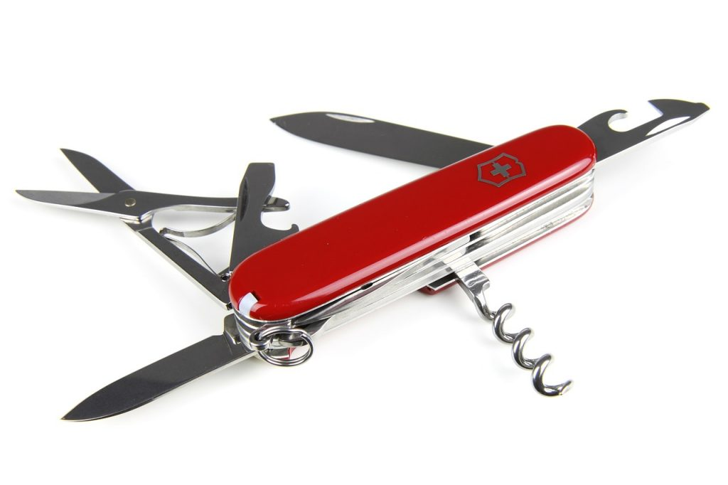 A swiss army knife - tools of the daily scrum