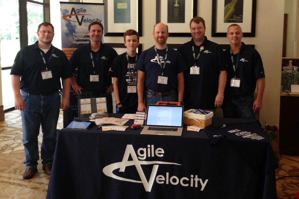 The Agile Velocity Team at Product Camp