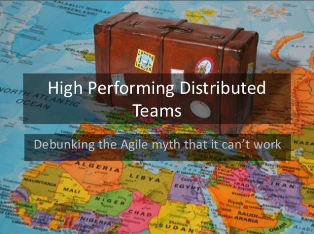 High Performing Distributed agile teams