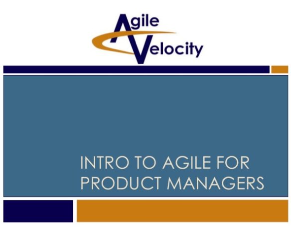 Introduction to Agile For Product Managers