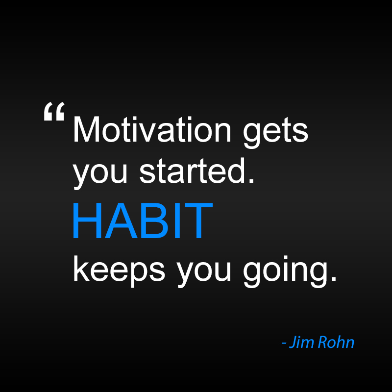 Motivation gets you started. Habit keeps you going. High-Quality Scrum Teams
