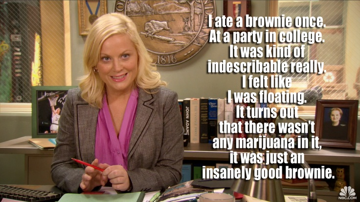 Leslie Knope has a sense of humor -- another of the ScrumMaster Skills