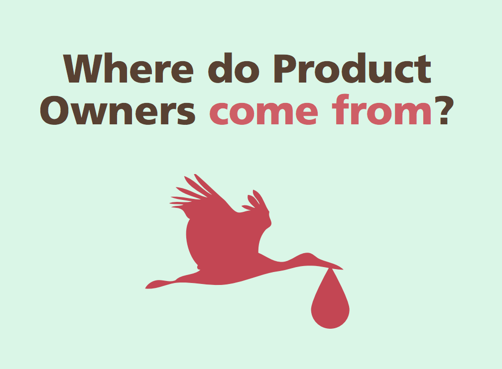 Image of a stork, find your product owner easily