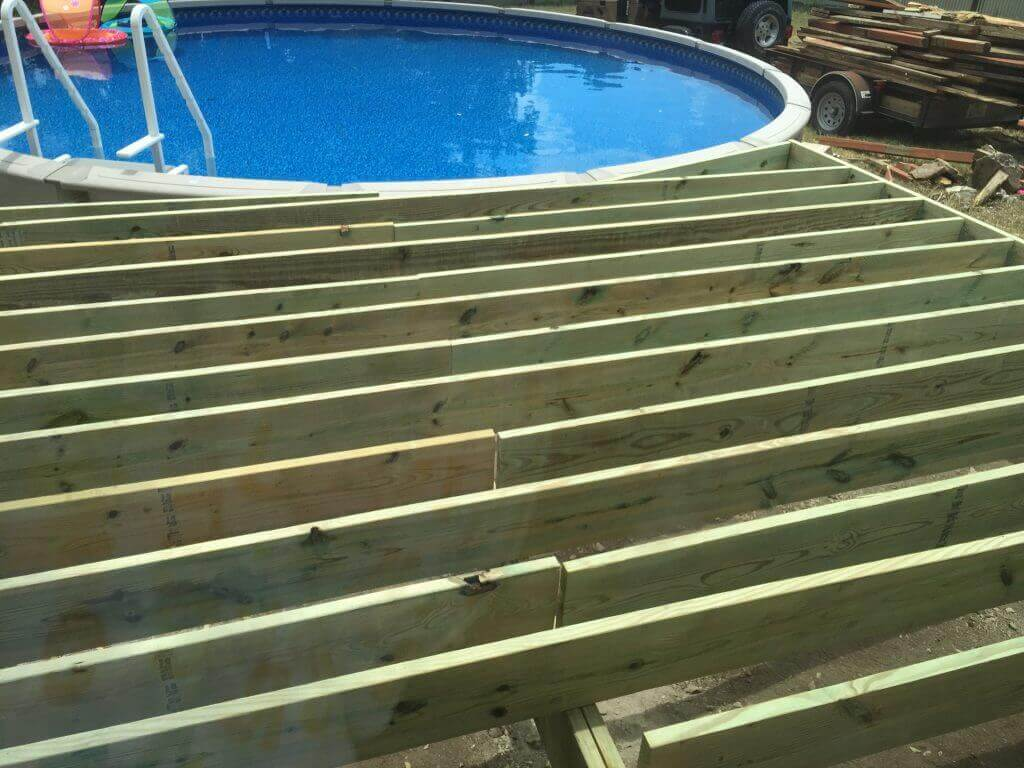 An unfinished DIY deck -- like an Agile transformation, you might need professional help