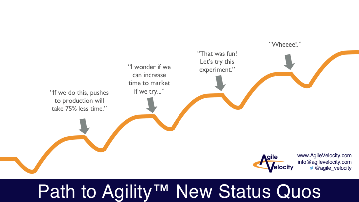 Path to Agility for Agile Transformation