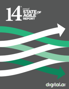 14th Annual State of Agile Report cover
