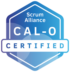 CAL-O badge from Scrum Alliance